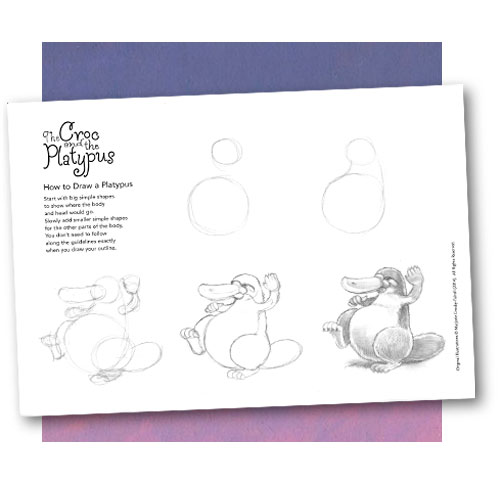 How to draw a Platypus (pdf file 536 kb)