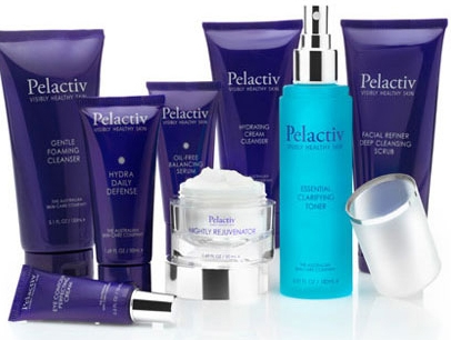 PELACTIV  Skin Care -  100% owned Australian product, has no artificial  colors or fragrance and is not tested on animals.