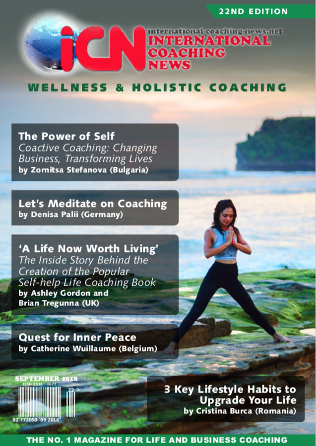 i   nternational coaching news edition 22     The Importance of Wellness and Holistic Coaching-The View from One of the UK's Largest Housing Providers'