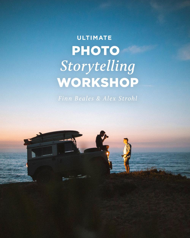 - Ultimate Photo Storytelling WorkshopWith Finn Beales & Alex StrohlRelease: October 20186 Hours / 37 Episodes / 6 Presets