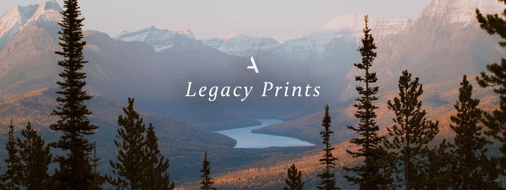 Alex Strohl Legacy Prints