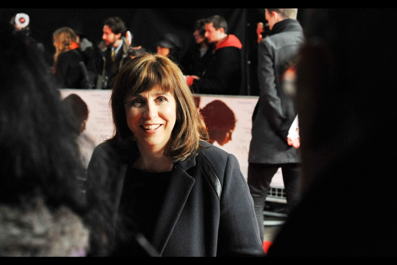 "Abi Morgan is the screenwriter of this, and was also co-writer of ""Shame"" with Director Steve McQueen.  Sadly, the writer of the book it was based on was wearing a hat so implausible I dismissed her as a random guest.... meaning I never photographed her. I've done worse at premieres, but not often."