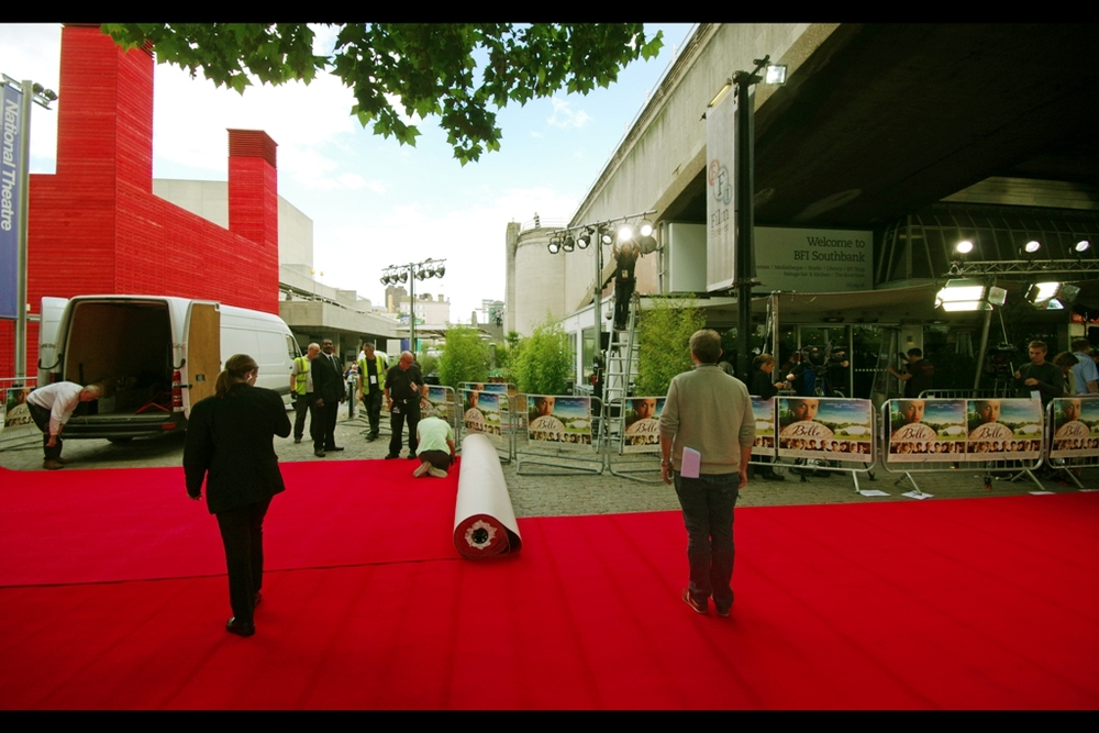 BFI Southbank doesn't get a huge amount of premieres, but it's not a bad spot, especially on a nice and sunny day. And I have photographed  Their Royal Highnesses William and Kate  there, and separately  Daniel Radcliffe (aka Harry Potter)   for The Woman In Black... in a related note, refer later in journal.