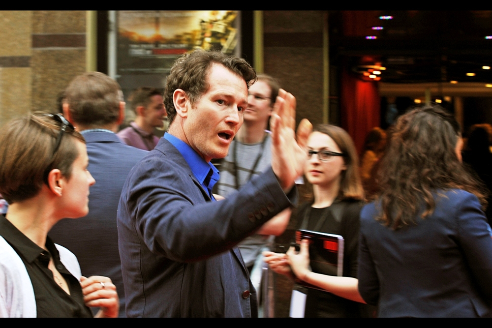 "Nick Moran breezes past just long enough for me to recognise him from the Paparazzi list. He's best known for being in the film Lock, Stock and Two Smoking Barrels, but was also the unfortunately-named ""Scabior"" in the last two Harry Potter films. Not playing a heroic figure, I'd assume."