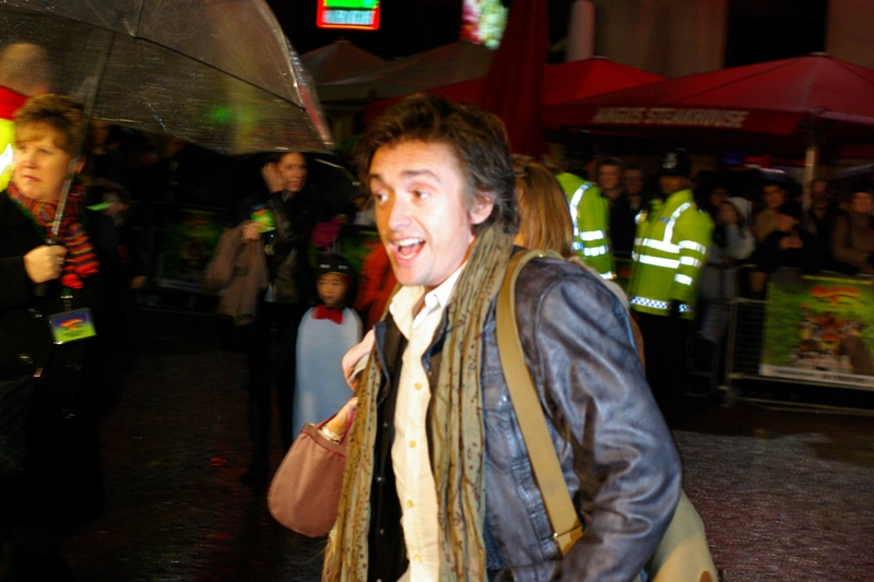 Meanwhile, other celebrities included Top Gear host Richard Hammond. (remains as previous)