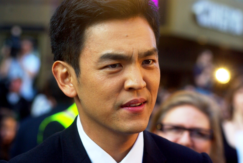"""Are you calling me 'Stacey'? Are you calling me 'Jane'?. Those aren't my name."" Indeed, John Cho plays Sulu in the film."