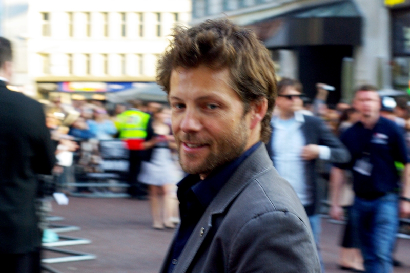 Incredibly, here's somebody I actually recognise for once! He's Jamie Bamber and he played Lee Adama ('Apollo') in Battlestar Galactica. What do I win?? (or 'How Many Cool Points Do I Lose?')