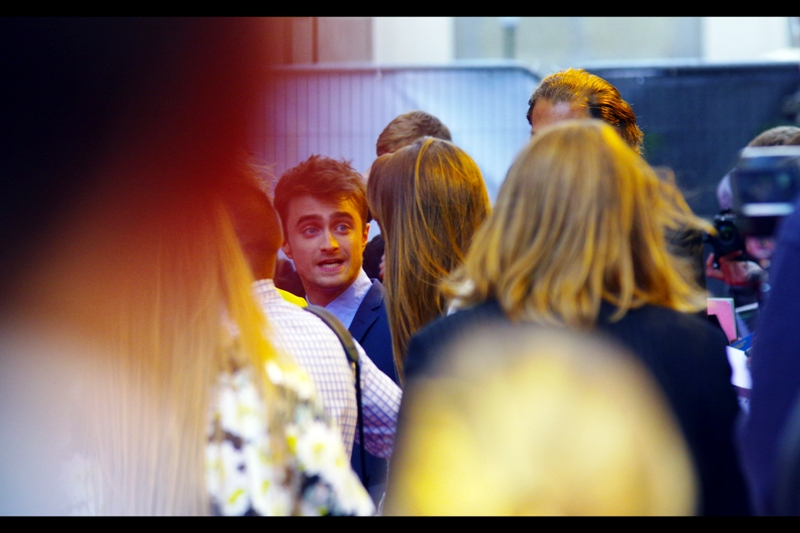 He's Here!! Daniel Radcliffe is best known for being Naked in the play 'Equus' and having a run of two low-budget Hammer horror films. Oh, and playing Harry Potter in the Harry Potter saga which grossed several billions of dollars over nearly a decade.
