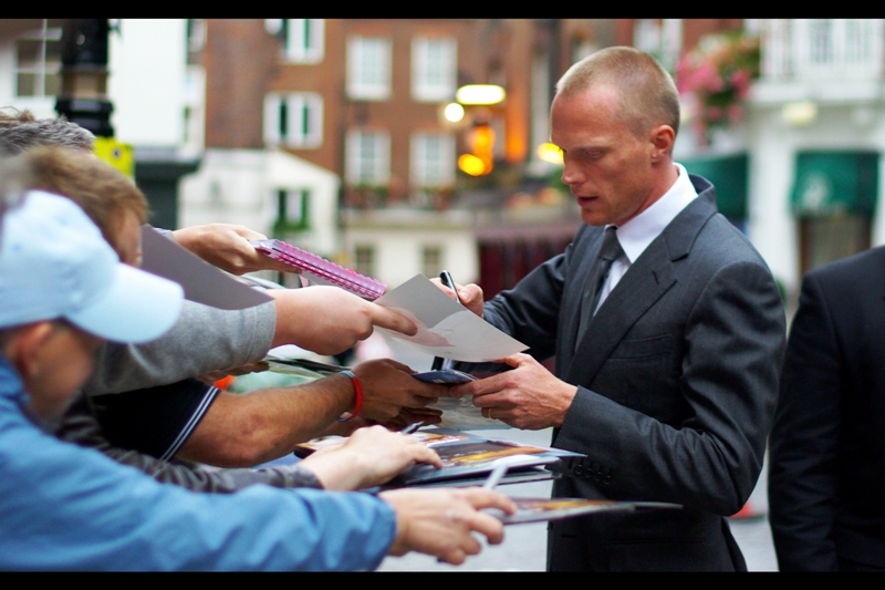 "Paul Bettany is arguably even better known (or 'recognised') for his voice - he's the voice of Jarvis, Iron Man's ""butler"" in the Iron Man films. (Whether Paul Bettany's voice sounds like that out in the real world, I'm not going to say)"