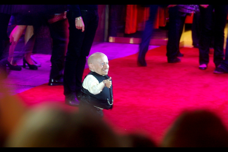 Verne Troyer is probably best known for being Mini-Me in the last two films in the Austin Powers trilogy... but for me he's better known for that cool scooter he rides!