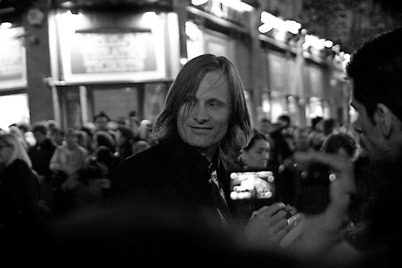 Aragorn! I noted that he was signing everyone's autographs very cheerfully, so I opportunistically grabbed his autograph too!  (What?... it's not like I was trying to (or able to) impress some girl anymore by this stage!)