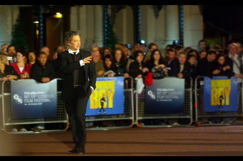 "... make that sixth time. This is Dexter Fletcher who was in ... oh, look ""Lock, Stock & Two Smoking Barrels"" and the abysmally/cutely titled and agonising to watch ""L4YER CAK3"" (where the '3' is backwards). Although I'm apparently in the minority in intensively disliking the film, as it has an 80% positive rating on rottentomatoes.com"