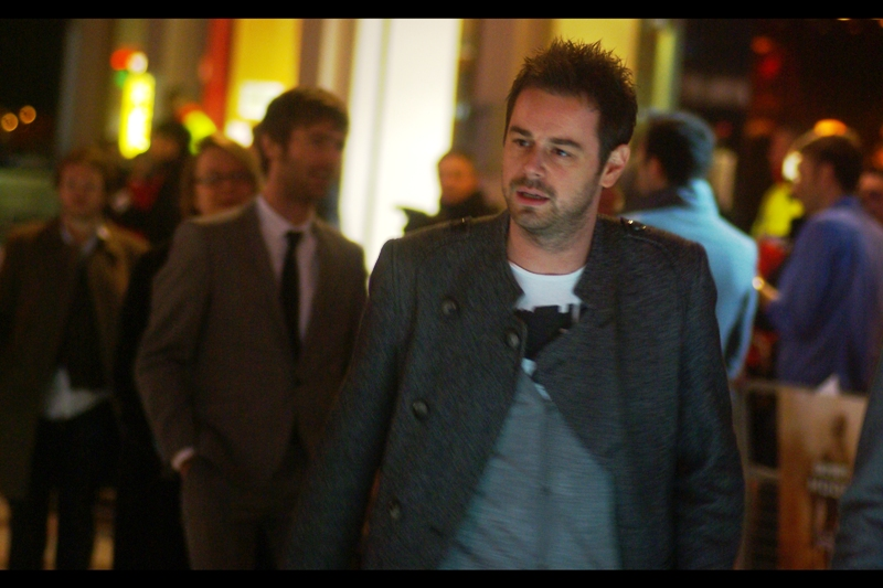 This is Danny Dyer. Insert anecdote > here <. (He's an actor, that's all I know!)