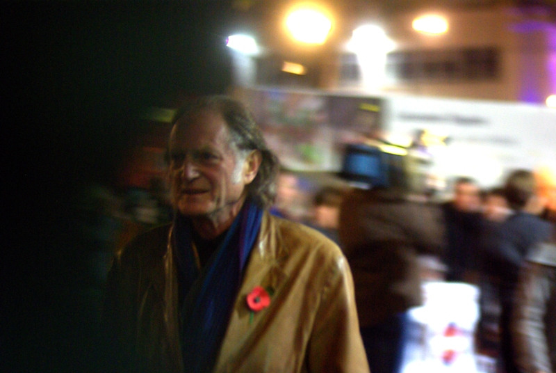 Years after this premiere (I'm typing this in 2014) I was overjoyed to return to this premiere and find out that I'd photographed David Bradley, as up until recently I had bemoaned the fact that I'd never photographed David Bradley (best known for being caretaker/groundsman Argus Filch in ALL the Harry Potter films!) - moreover I'd been at a premiere where I'd seen 'some old dude' I didn't photograph... only to find out that he'd been David Bradley...