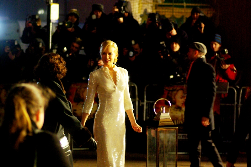 The second-best photo I took of Nicole Kidman at the premiere of the Baz Luhrman film 'Australia""