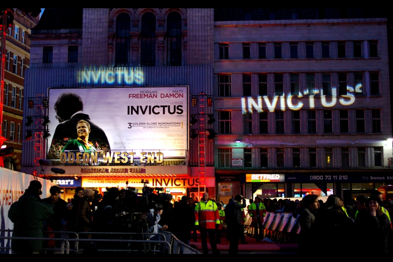 'Invictus'. Some kind of swords-and-sandals Roman epic? Not so much. It's about Rugby Union, and Clint Eastwood is directing.