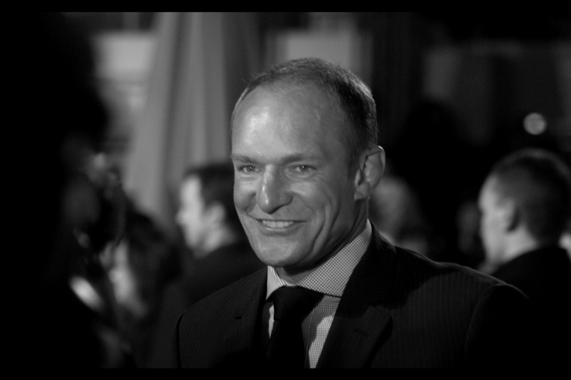 Former South African captain Francois Pienaar, whose part in the movie is played by Matt Damon, scored an invite. (Sadly, Nelson Mandela did not attend)