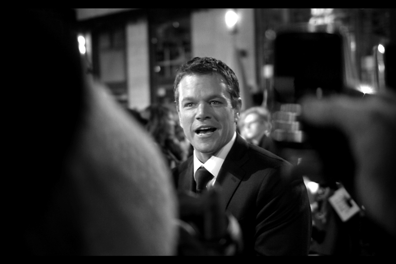 """And they turned me into a marionette who did nothing but say *Maaaaatt Daaaaamon* all the time? Really? Well, that does explain a lot of I've been experiencing the last five or six years""  Matt Damon will make sure to watch ""Team America World Police"" at the earliest opportunity."