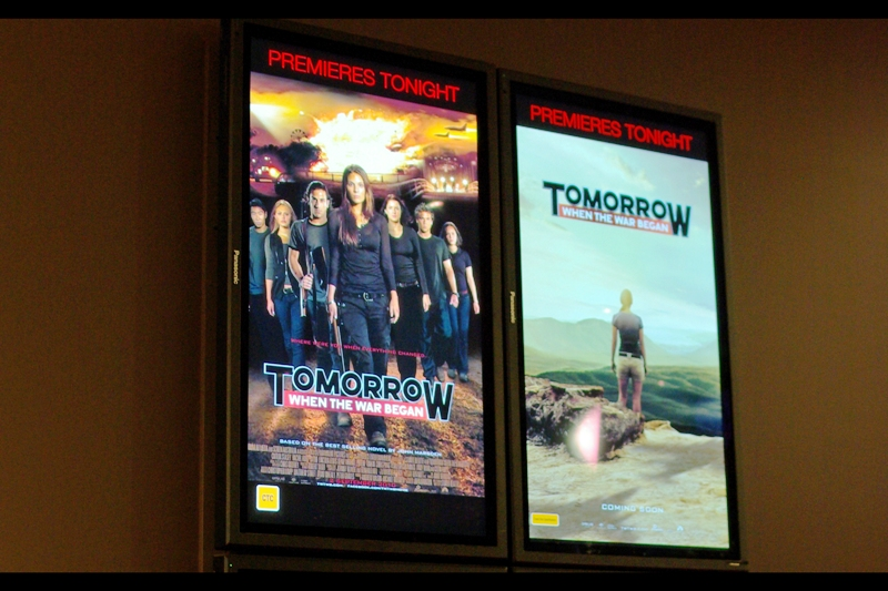 A Film Premiere! In Australia! (of course it helps if the story, author and cast are all Australian...)