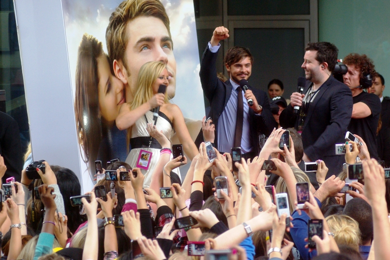 "Zac Efron uses his platform at the premiere of ""Charlie St Cloud"" to urge the young female population of Parramatta to Fight Tha Powah!!!"