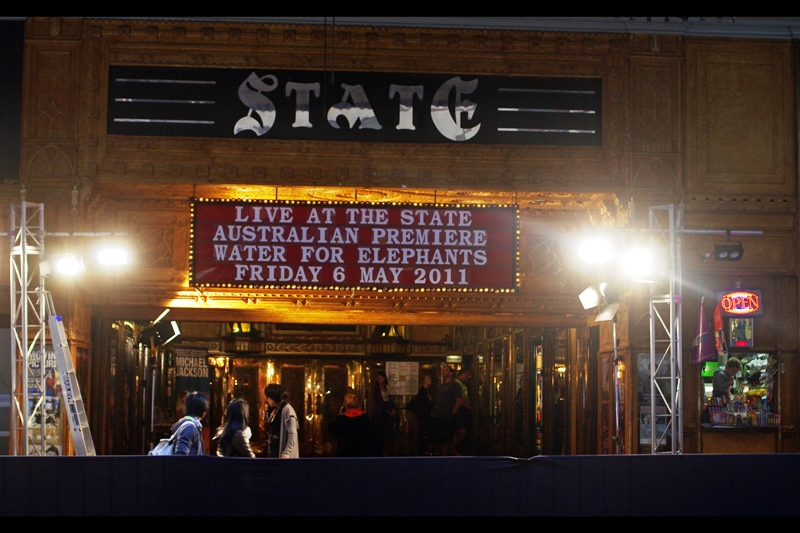 The State Theatre. I once totally lost all contact with a friend for years and then randomly ran into him at a screening of Raiders of the Lost Ark there, so it's kind of a cool place. (I'm sure Reese Witherspoon would be fascinated with that anecdote...)
