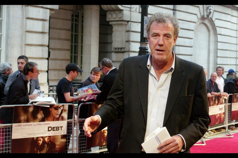 Meanwhile , Top Gear's Jeremy Clarkson is.... very tall.