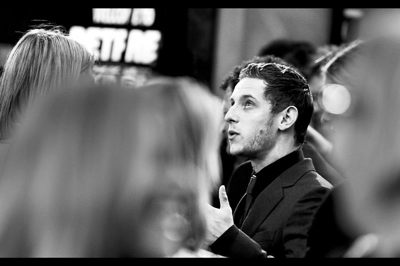 "Jamie Bell (the voice of Tintin) is most famously known for playing Billy Elliot in the movie ""Billy Elliot"", however he seems more familiar to me than that - he was in (and at the premiere for) the movie ""Defiance"" with Daniel Craig AND he was the young kid on the boat in Peter Jackson's ""King Kong"". Bet he's glad he kept on the good side of Peter Jackson - producer of this film."