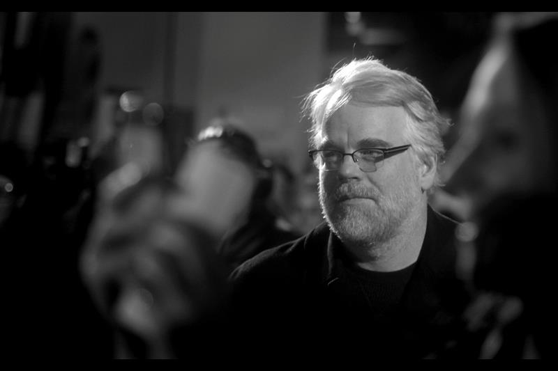 "The late, great Philip Seymour Hoffman at the premiere of  ""The Ides of March"""