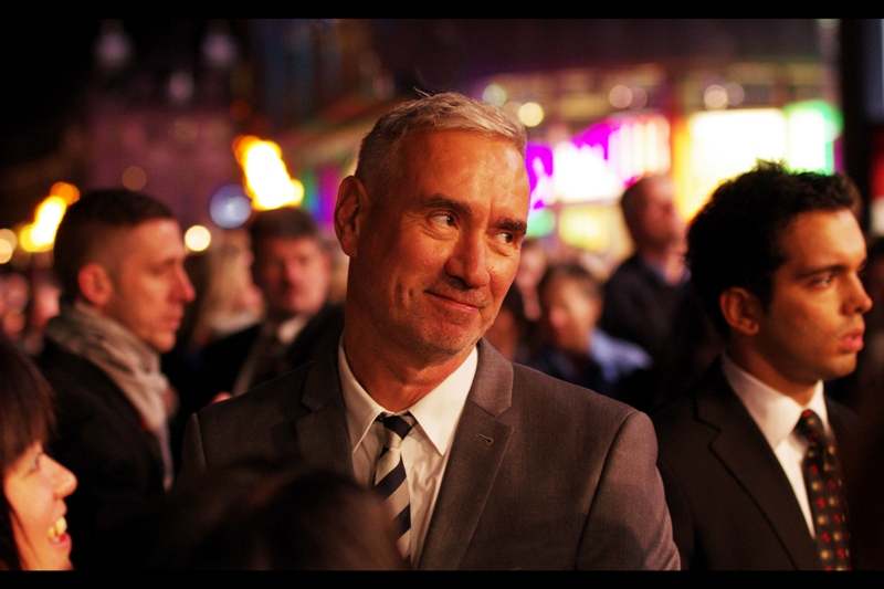 It's director Roland Emmerich!! He's actually a very cool guy, with considerable good humour for people who criticise his scientifically spurious brand of disaster film. And excitingly : this movie is about SHAKESPEARE! (I for one can't wait for the helicopter gunfights!!)
