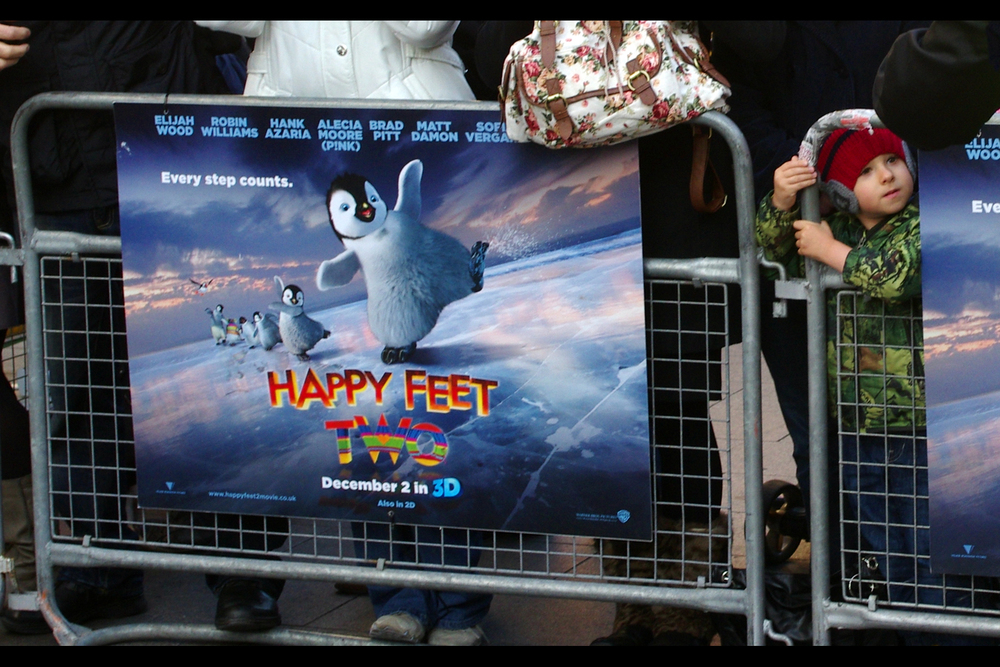 I've read the plot outline of the first Happy Feet movie on Wikipedia, and if it's true then it's quite possibly one of the oddest animated films ever. And now it has a sequel. Can't wait (to read the wikipedia outline of that plot, too!)