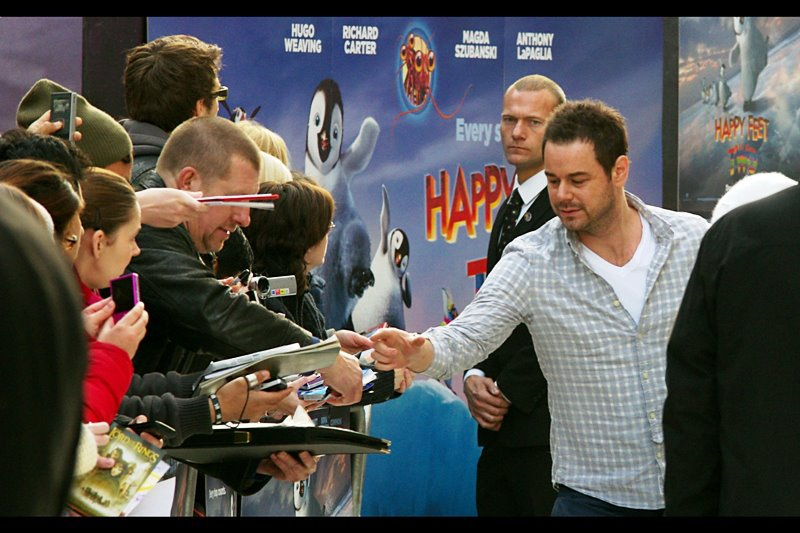 "Actor Danny Dyer was last seen flicking a cigarette at the premiere of ""Malice in Wonderland"", and I remember it two years later because it really was an awesome cigarette flick..."