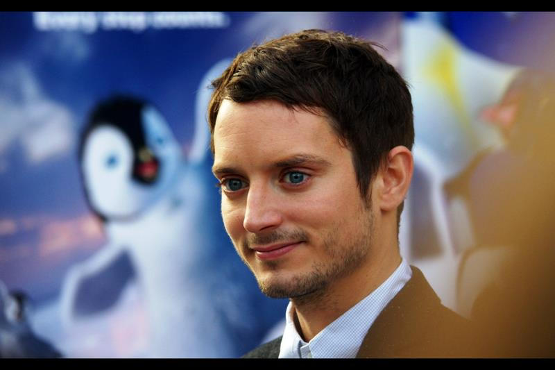 The producers of the Lord of the Rings Trilogy said in one of their commentary tracks that they never felt the need to enhance the blue-ness of Elijah Wood's eyes.