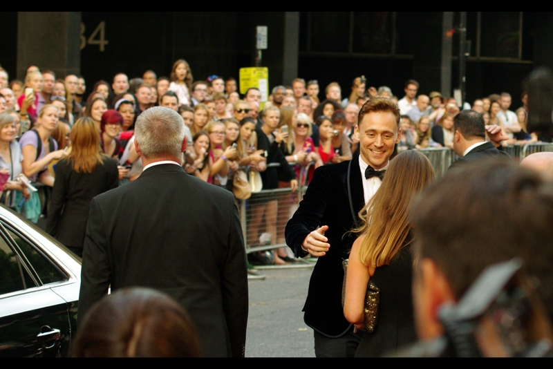 Tom Hiddleston, best known for : being Tom Hiddleston.