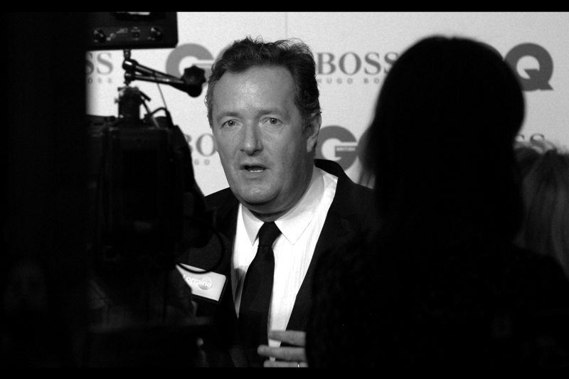 Piers Morgan, interviewer. He won an award for *TV Personality*. Call me non-representative (and even *I* have), but awards for 'personality' surely can't have that much worth attached to them?