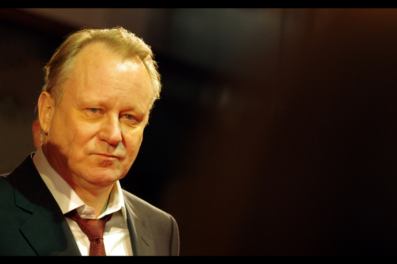 "A cursory glance at imdb suggests that Stellan Skarsgård may have been in every movie ever made. Well, specifically ""Thor"" and ""Melancholia"", though he wasn't at either premiere. He was also Bootstrap Bill Turner in Pirates of the Caribbean (the 'a' with the dot above his name was available via insert - symbol in Microsoft Word)"