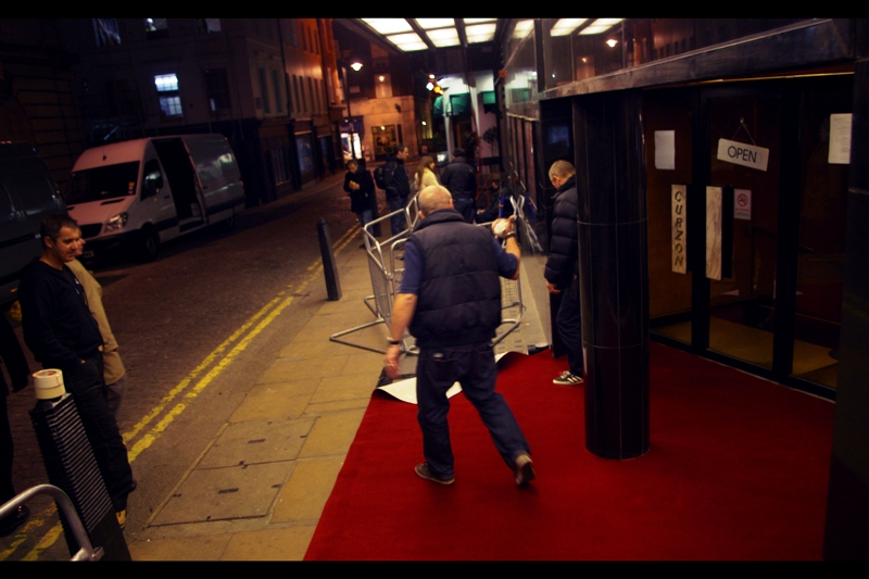 It's not about the size of your red carpet, it's about the fact that you've GOT one! Well played, Curzon Mayfair!