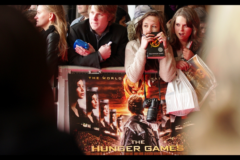 """The Hunger Games"" may seem to have a creepy Twilight-ness vibe about it, however unlike (or should I say 'just like') Twilight, I've read the Hunger Games books and UNLIKE Twilight THESE ones were excellent."