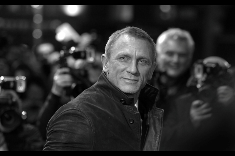 "Daniel Craig from the premiere of  ""The Girl With The Dragon Tattoo"""