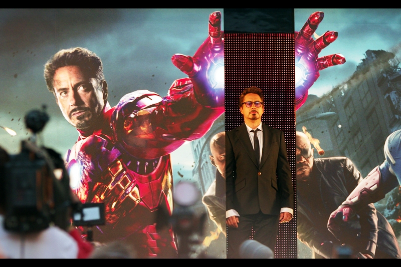 And then Robert Downey Jnr showed up....