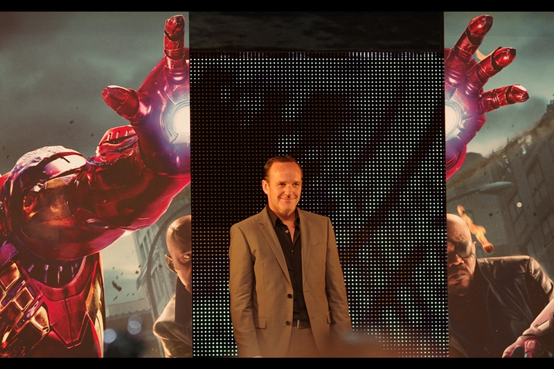 Next up, Clark Gregg, who has played Agent Phil Coulson in about four of the feeder films for the Avengers franchise.