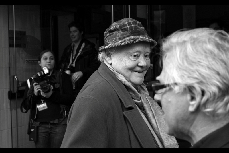"This is Dudley Sutton. Ordinarily I'd merely comment on the hat and then move on. But my favourite sentence from his wikipedia entry is :  ""In August 2003, he performed the one-man 'Killing Kittens' show at Edinburgh's Underbelly"".  Which certainly invites a rethink."