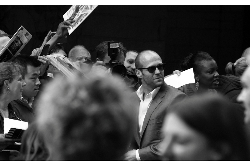 OMG. I am photographing Jason Statham. Or... you know... possibly myself, via a complicated series of mirrors and a remote trigger.