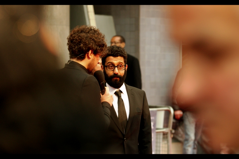 Adeel Akhtar plays a personal attendant to General Aladeen in the film. I heard something about a scene he was in that I'm hoping wasn't filmed for real. Or shown. Or is never mentioned in any context again.