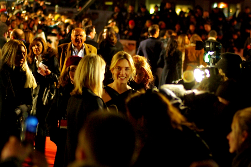 "Slightly soft it might be, but this photo of Kate Winslet at  the premiere of ""Revolutionary Road""  represents the first of many times over the years that she and I have shared what I would call (but her legal team would deny are) intimate public moments."