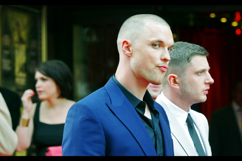 Finally, this is actor Ed Skrein. If Charlize Theron looks at me like this tomorrow, my id, ego, and superego are all going to leave and leave me to deal with it on my own.