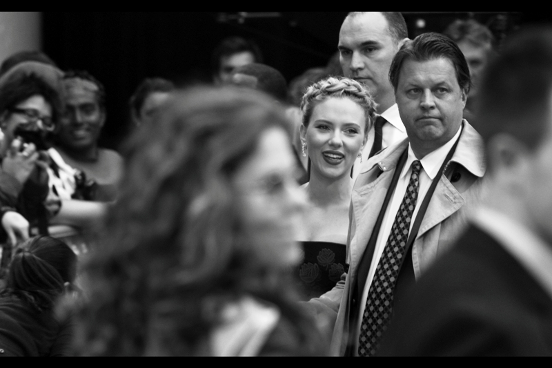 "Oh, I'm sure the fans were mostly there for Robert Downey Jnr, Tom Hiddleston and Thor... but I? I took a day off work and waited 11 hours to photograph Scarlett Johansson at  the premiere of ""The Avengers"" . Regrets? In my life - sure. That particular day? Not so much."