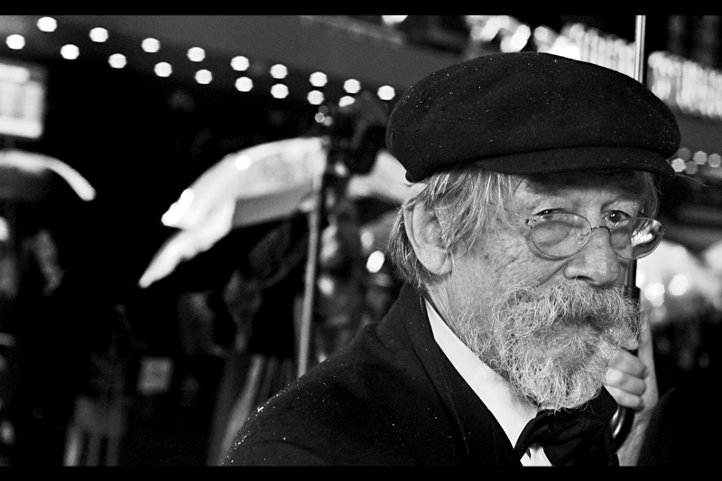 Although he's not in this film, actor John Hurt is always a welcome presence on red carpet events - he's a really, really nice man (AND he was in V for Vendetta. You can do a fair bit of evil and still get credit for being in V for Vendetta in my opinion. It's a great film)