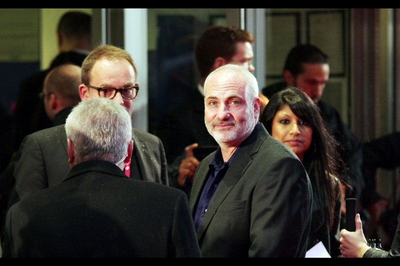 Kim Bodnia staredown contest (you've already lost)