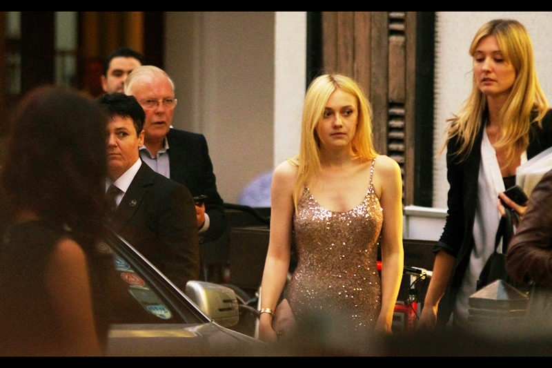 Dakota Fanning. Born February 1994. Just so you know.