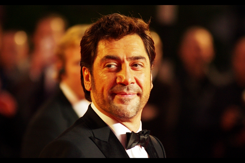 "It's Javier Bardem! As immortalised by Daniel Radcliffe in the audioblurb that goes something like:  ""omygoditsJavierBardemiLOVEhimIjustwatchedNoCountryForOldMenTODAY""  I'd strongly urge you to youtube it, but I don't know how it would be tagged."